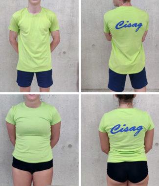 T-shirt vert CISAG